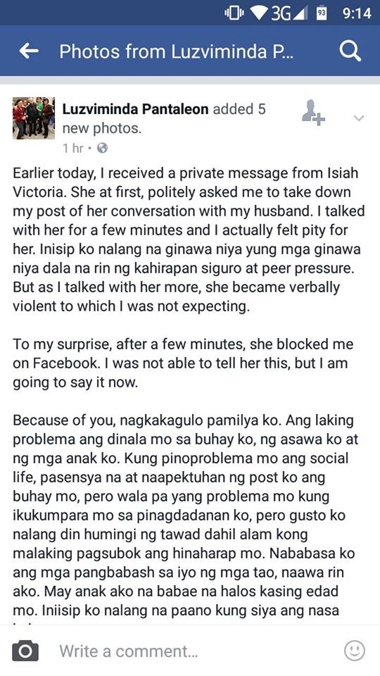 Viral iPhone7 girl has abused the wife who posted her messages! Unbelievable!