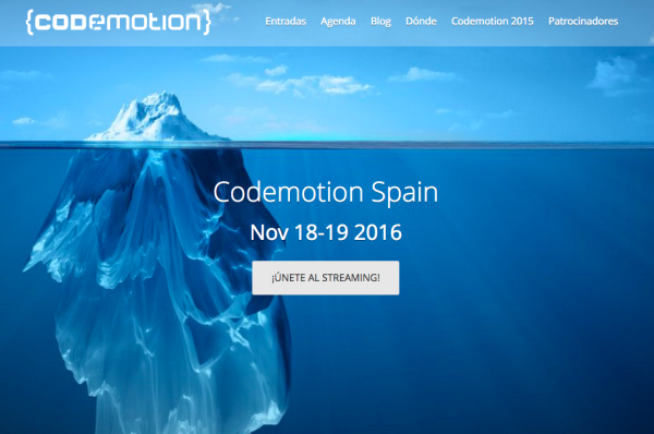 Codemotion 2016