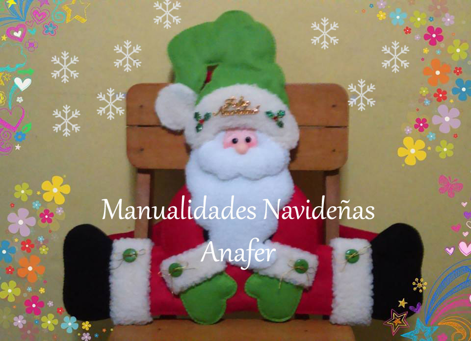 Manualidades Decoracion Navidad ~ Manualidades Navide?as Anafer Cubresillas 2016