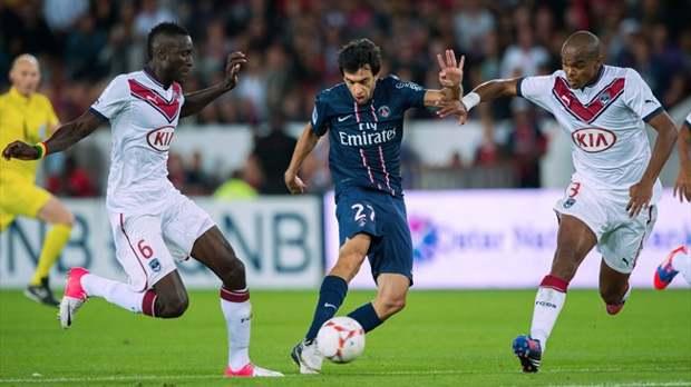 PSG vs Bourdeaux