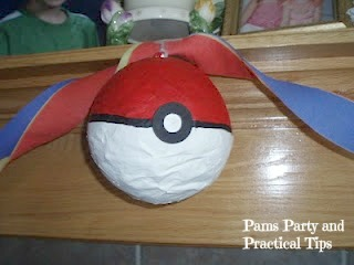 Once The White Paint Was Dry I Painted Top Half Of Pinata Red Including Tie You Want To Be At