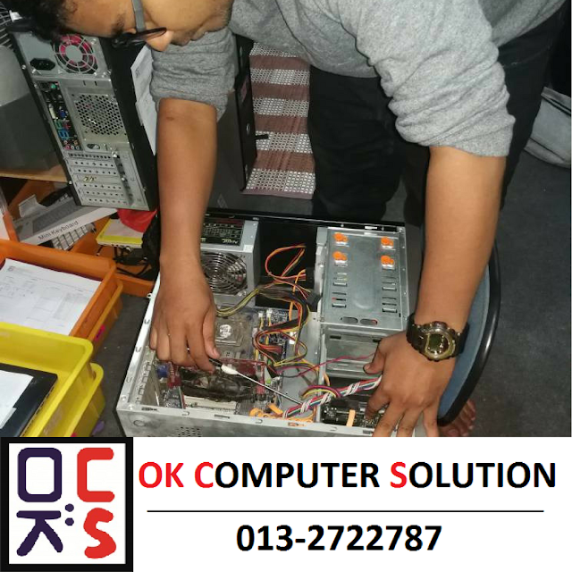 PC AUTO SHUTDOWN | REPAIR COMPUTER WANGSA MAJU