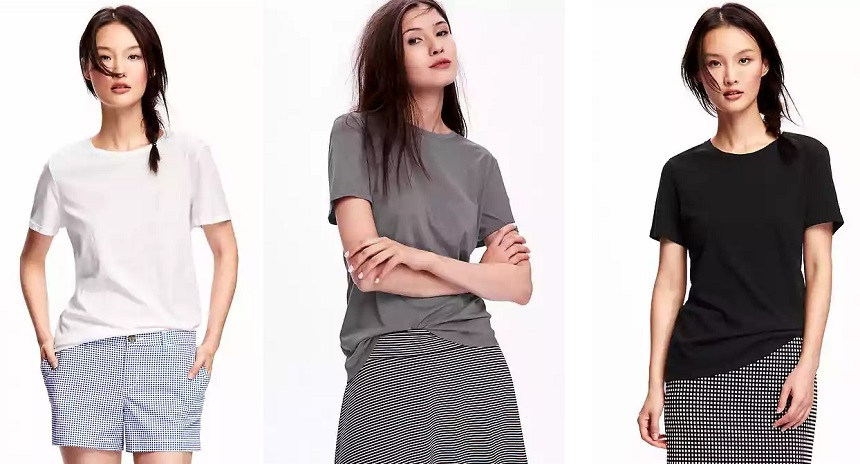 Old Navy Relaxed Crew Neck Tees for $5 (reg $15)