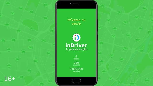 inDriver, la primera aplicación de transporte urbano que asegura tu día a día
