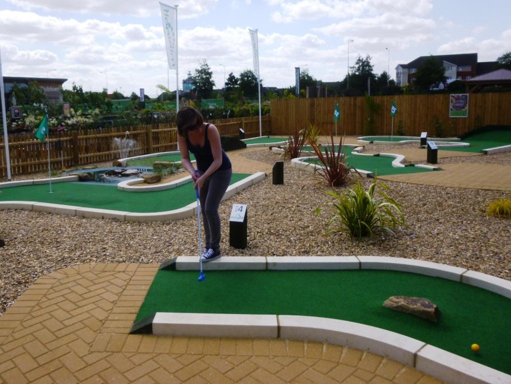 Crazy golf peterborough