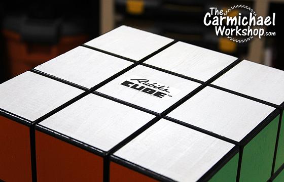 Carmichael Workshop Rubik's Cube Birdhouse
