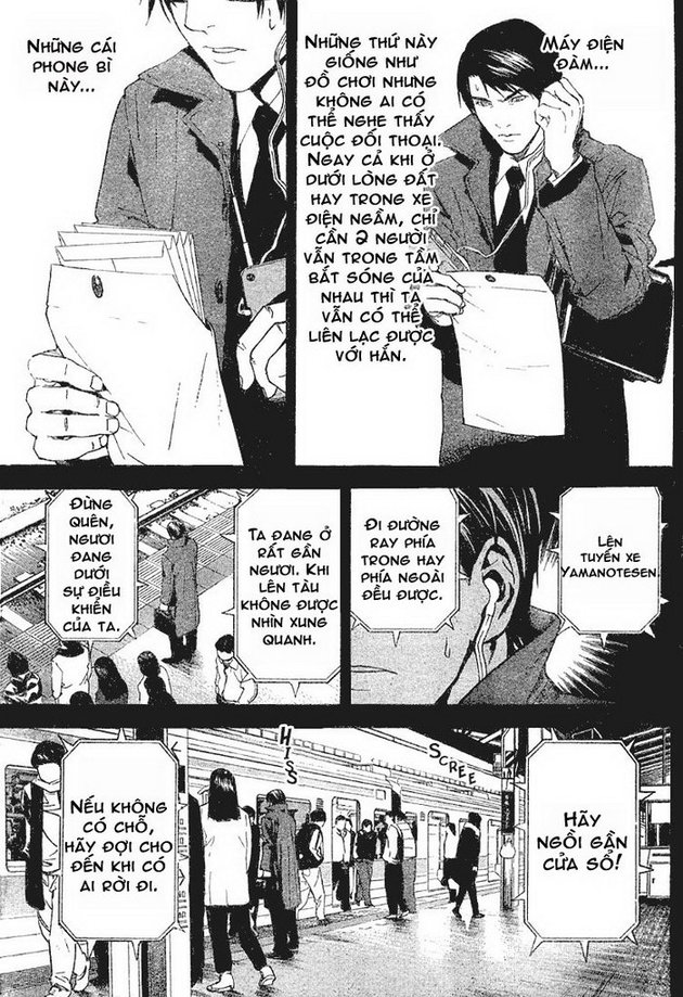 Death Note chapter 009 trang 12
