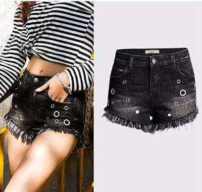 combinar shorts mujer