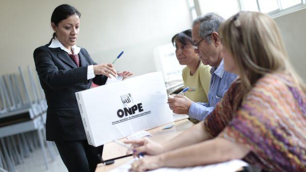 Elecciones 2016: Revisa aquí si eres miembro de mesa