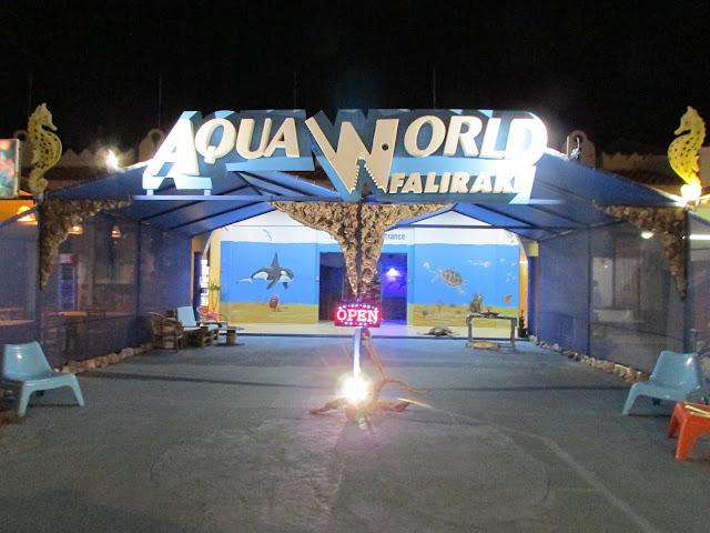 Akwarium w Faliraki