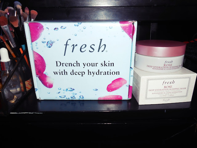 FRESH ROSE DEEP HYDRATION SLEEPING MASK INFLUENSTER VOXBOX