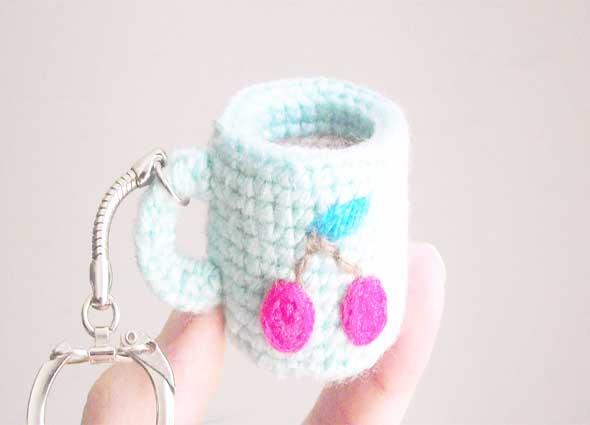 fundas tazas crochet, fundas tejidas, crochet mug cozies