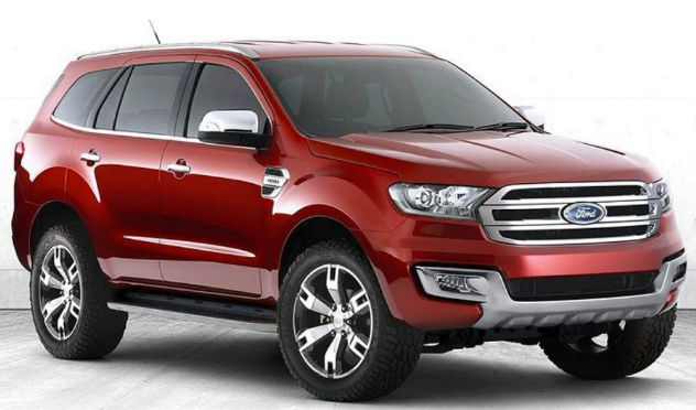 2018 Ford Everest USA