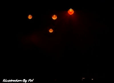 UFO REPORT: Glowing Balls Hover Over The Night Sky Near Charlotte