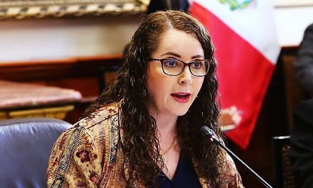 """La congresista fujimorista Rosa Bartra dijo que """"es fundamental"""" en un Estado democrático el respeto a la independencia de poderes."""