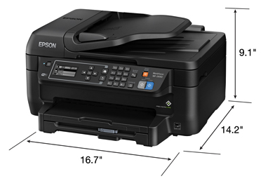 Epson WorkForce WF-2650 review printer
