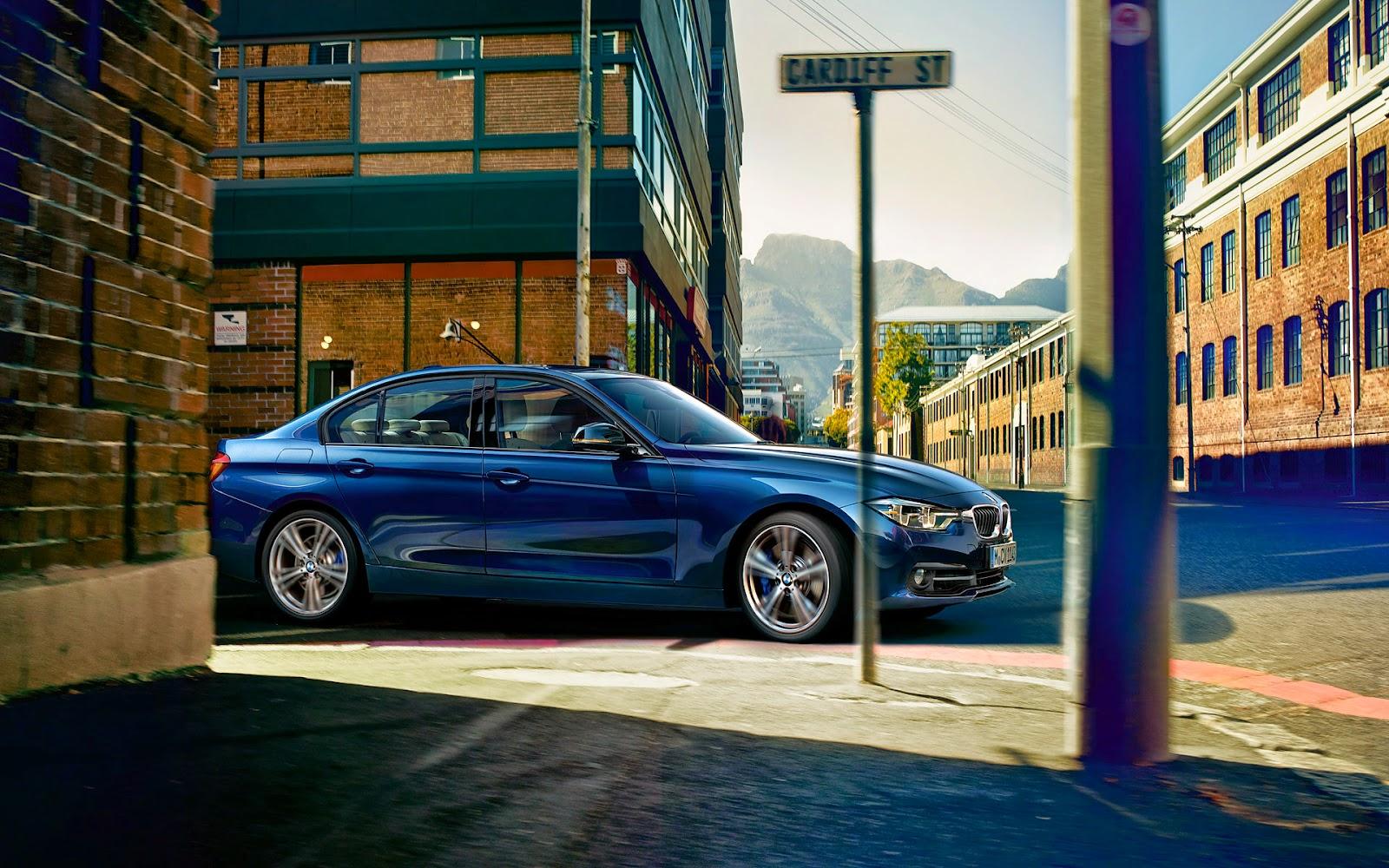 BMW Life: BMW F30 340i Sedan Sport Line Facelift Wallpapers