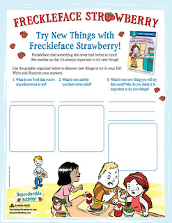 freckleface strawberry activity page