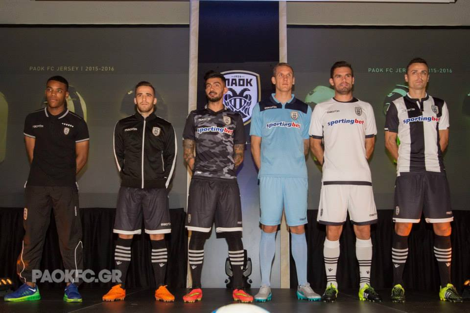 Macron PAOK 15-16 Kits Jersey Shirt in Greek   Have a Nice Day !  nice –  Nice Day Sports 48aaeee00d8