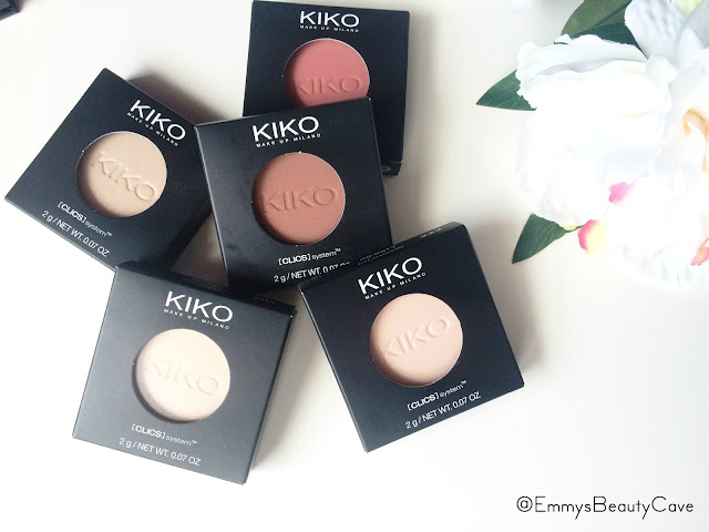 KIKO Infinity Eyeshadows Review and Swatches