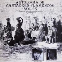 """AGUJETAS EL VIEJO... Varios """"Antología de Cantaores Flamencos"""" vol. 25, Félix de Utrera 1991"""