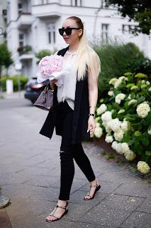 black zara flat sandals chanel inspired