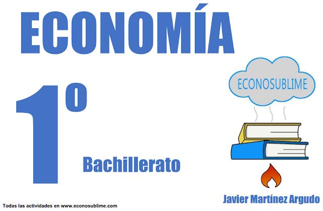 libro economía 1º bachillerato