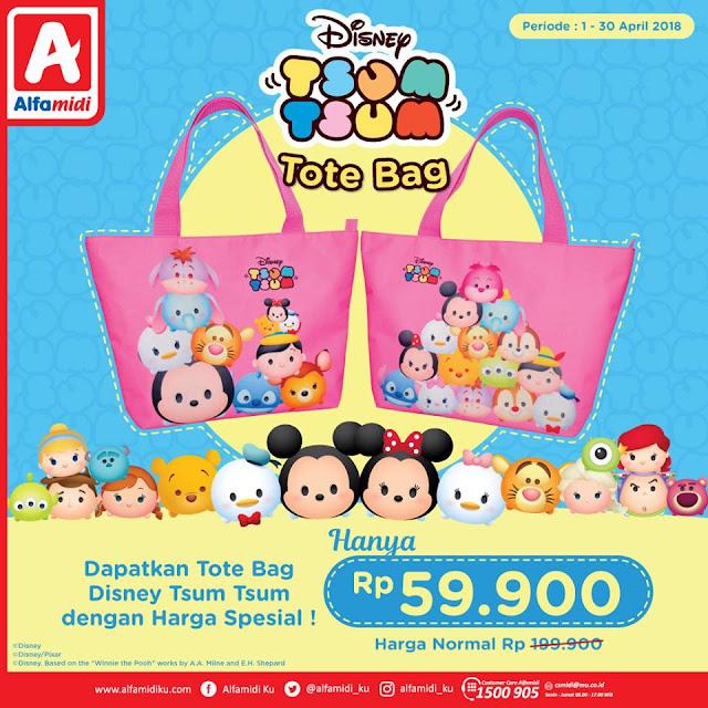 Disney Tsum Tsum dalam bentuk Tote Bag