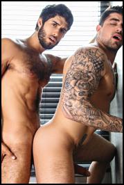 Ryan Bones y Diego Sans