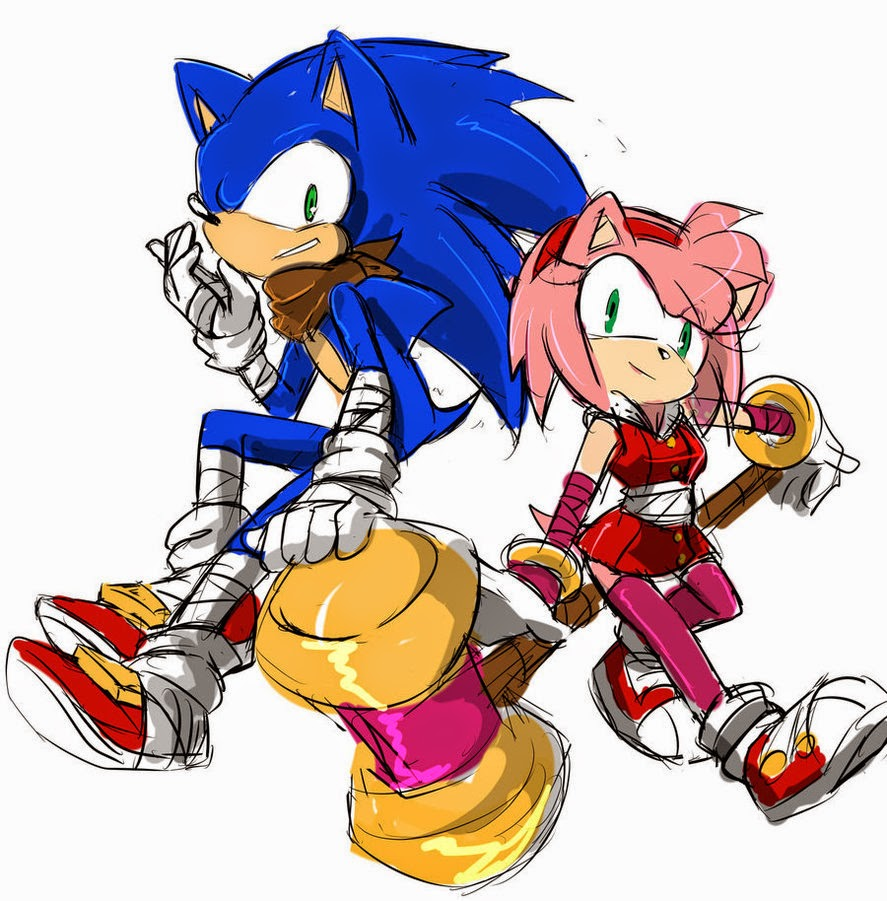 Kumpulan Gambar Sonic Boom Gambar Lucu Terbaru Cartoon Animation