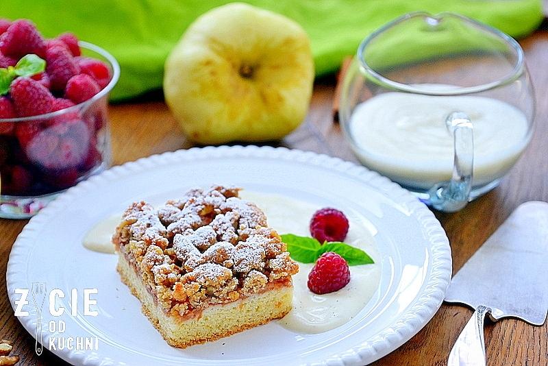 szarlotka, domowe ciasto, jablka, ciasto, zycie od kuchni