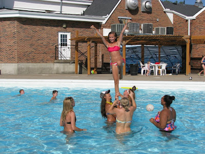 Winnetonka Cheer Swim Party Pictures