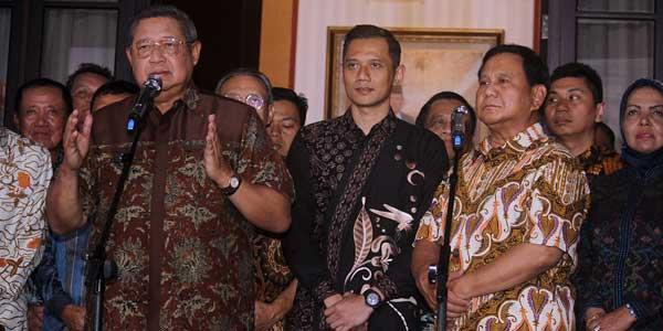 Gerindra: Sekarang SBY Antusias, Kita Yakin 1000 Persen Prabowo - Sandi Menang