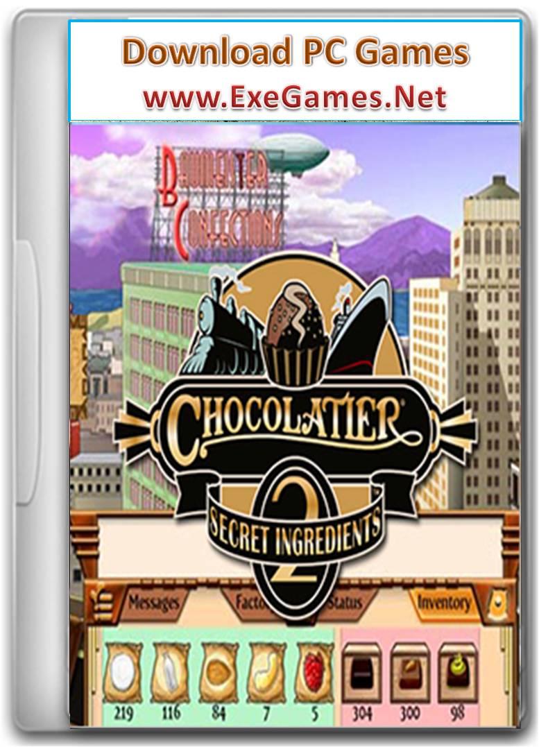 chocolatier 2 secret ingredients exe full game free pc ...