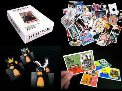The Art Hustle Series 3 - The Art Hustle Series 3 Case, Various The Art Hustle Cards, Luke Chueh Stand-Up Cards & Brush Cards
