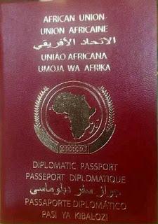 Baasaboorka Africa ku midaysan tahay oo soo baxay