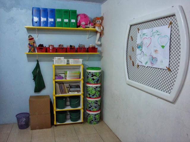 Espaço para crianças depois