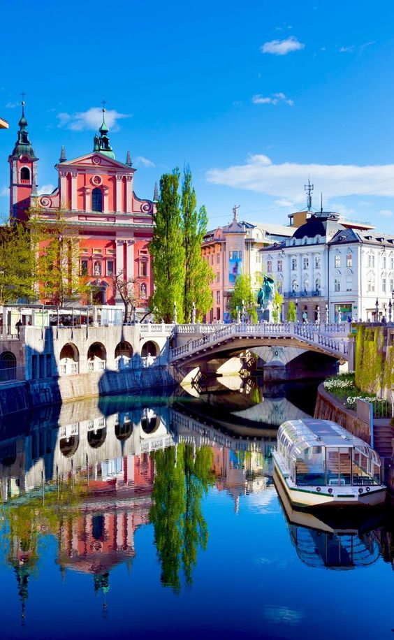 Maximum Price Fluctuation - Slovenian capital Ljubljana | The most beautiful European Destinations in Spring