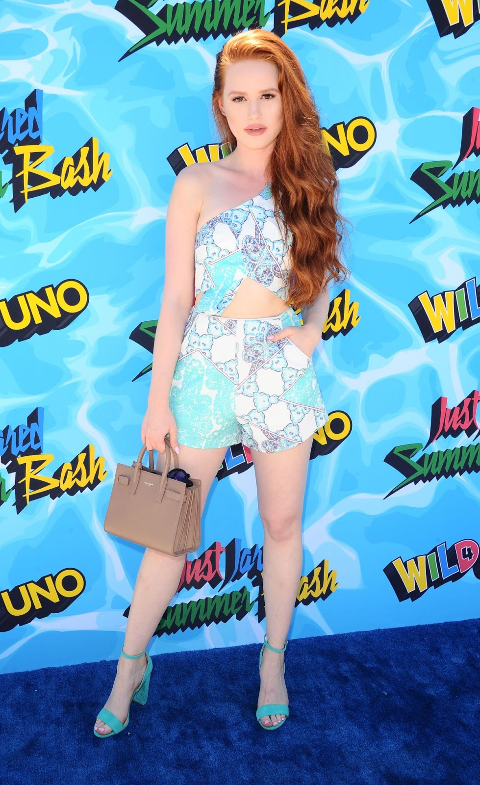 Madelaine Petsch at 4th Annual Just Jared Summer Bash in Beverly Hills