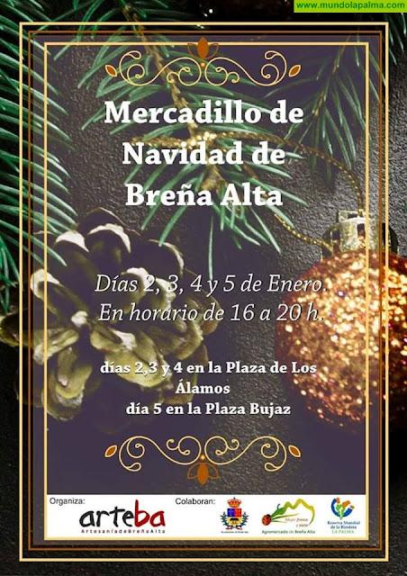Mercadillo de Navidad en Breña Alta