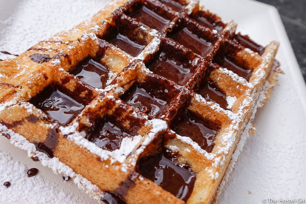 Belgian Waffles - Food to try in Belgium