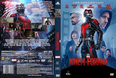 Filme Homem Formiga DVD Capa
