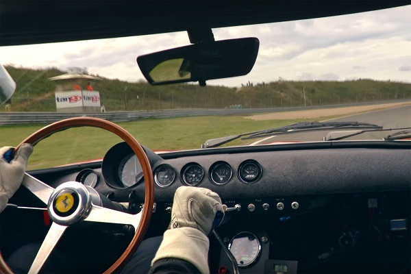 Ferrari 250 GTO on board