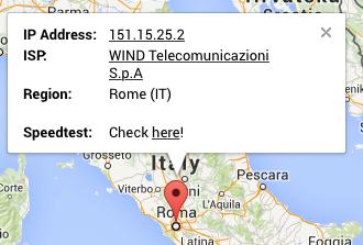 Scam IP : 151.15.25.2