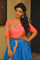 Nithya Shetty in Orange Choli at Kalamandir Foundation 7th anniversary Celebrations ~  Actress Galleries 049.JPG