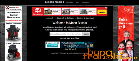 Mendapatkan Bitcoin Gratis Dari Moon Bitcoin