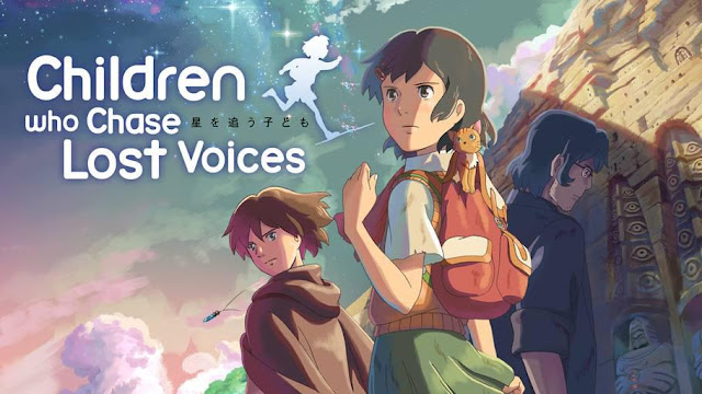 Hoshi wo ou Kodomo (Children Who Chase Lost Voices) - Top Anime Like Made in Abyss