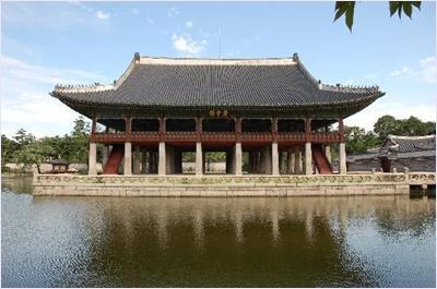 ตำหนักเคียงเฮียรู (Gyeonghoeru) - พระราชวังเคียงบก (Gyeongbokgung Palace)