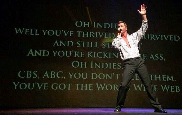 "Eric Martsolf Performs ""Oh Indies"" at the 6th Annual Indie Series Awards"