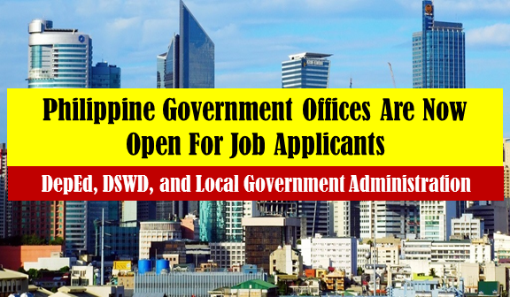 Are you searching for a government job? Feel free to click the job vacancies below and you will be directed to a government website.